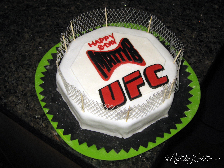 Ufc Octagon Cake Natalie Intven