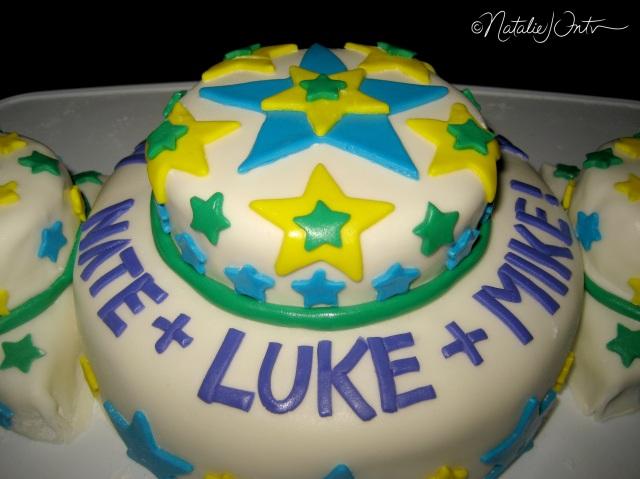 Triple Star Birthday Cake Natalie Intven