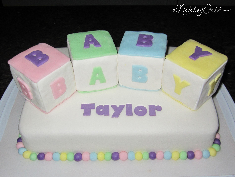 Baby Block Cake Images : Baby Blocks Cake Natalie Intven
